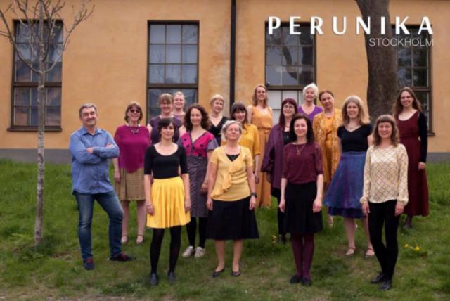 Konsert med kören Perunika lördag 5 oktober kl 16.30