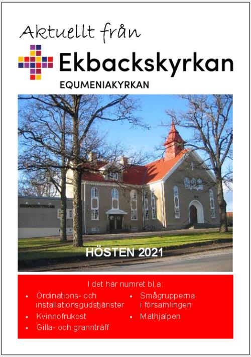 Programblad hösten 2021
